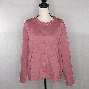 Orvis Button Jacket XL Pink